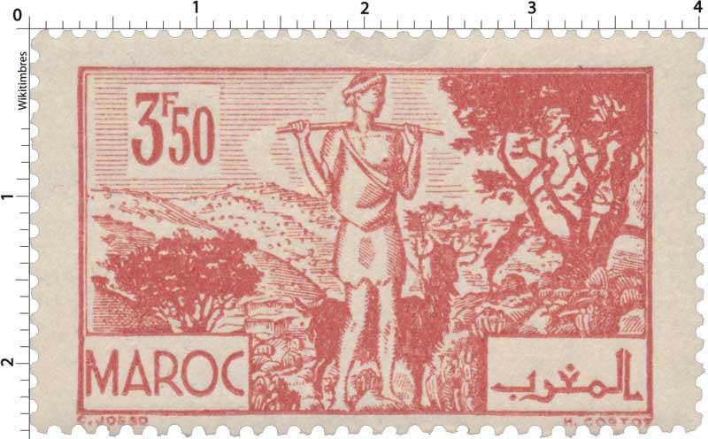 1945 Maroc - Les Arganiers