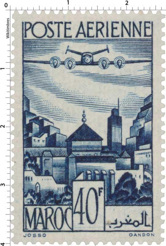 1947 Maroc - Remparts de Salé - Moulay Idriss