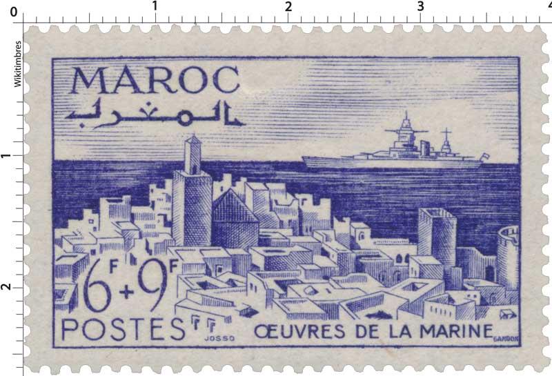 1948 Maroc - Pour les Oeuvres de la Marine - Kasbah d'Agadir