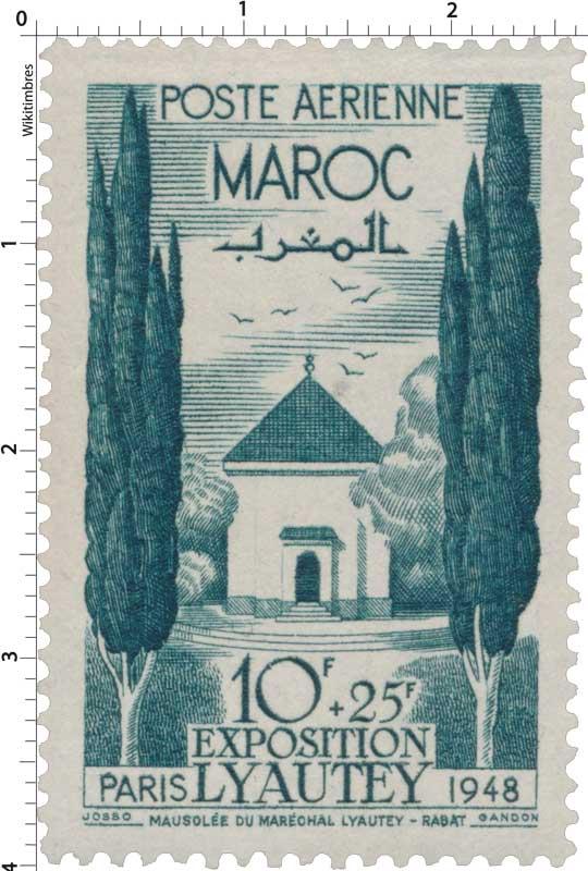 1948 Maroc - Mausolée du Maréchal, à Casablanca