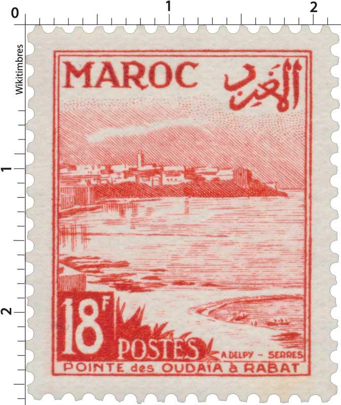 1951 Maroc - Pointe des Oudayas