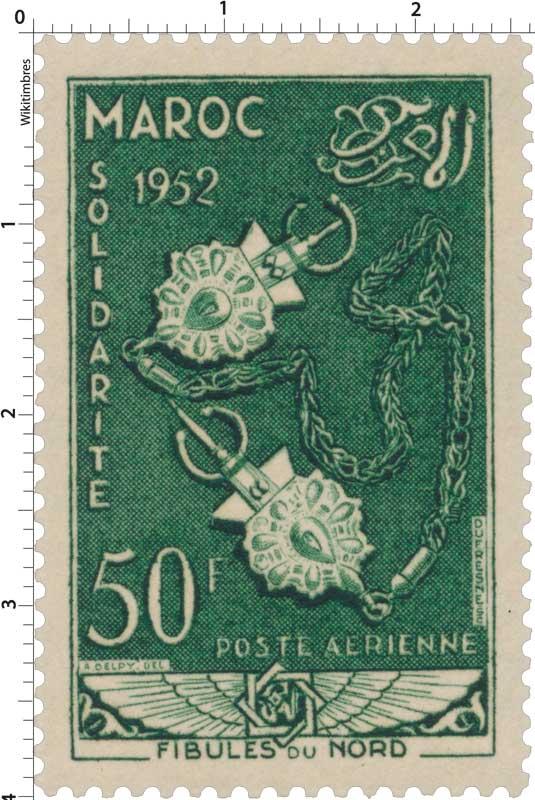 1953 Maroc - Fibules du Nord