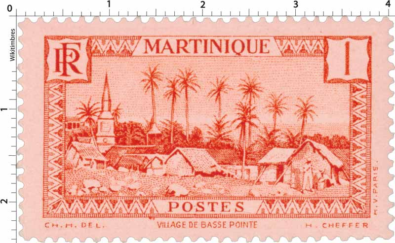 Martinique - Village de Basse-Pointe