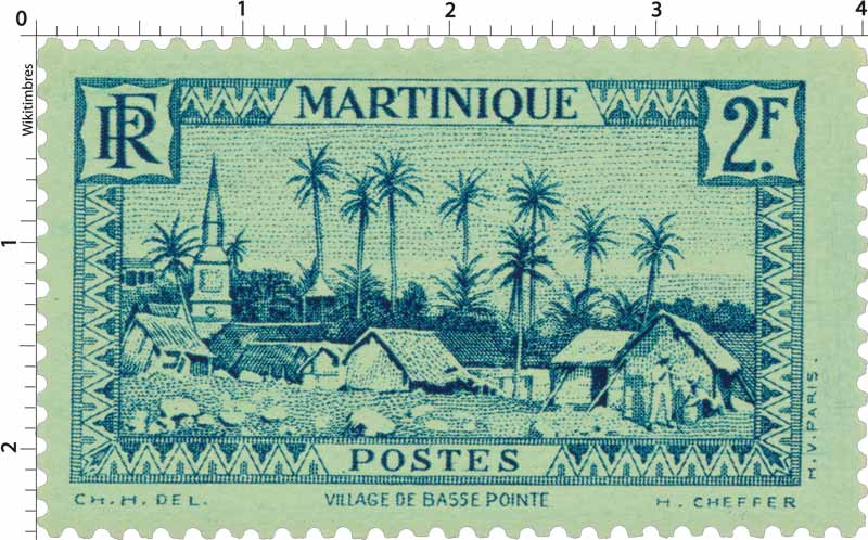 Martinique - Village de Basse-Pointe