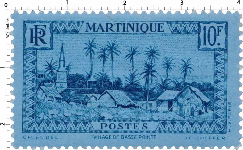 MARTINIQUE Village de Basse Pointe