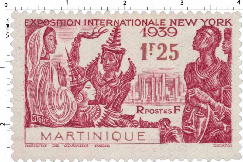 Martinique - Exposition internationale  New-York 1939