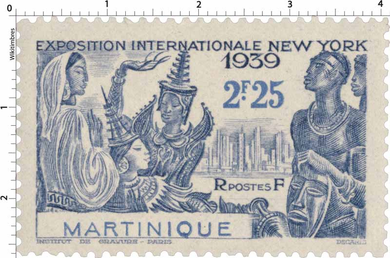 Martinique - Exposition internationale  New-York 1939
