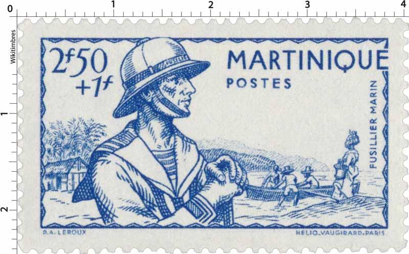 Martinique  Fusilier-marin