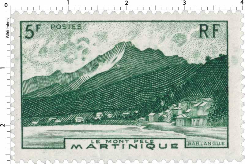 Martinique - Le mont Pelé