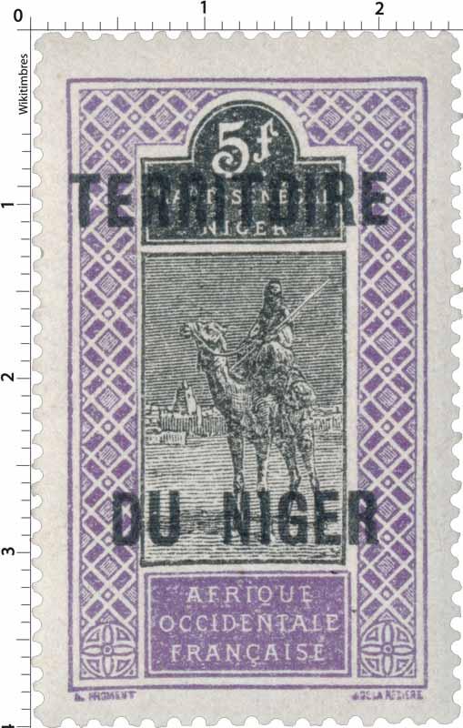 Afrique occidentale française - territoire du Niger