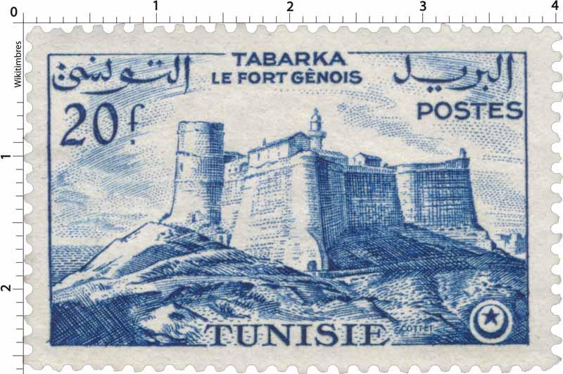 Tunisie - Tabarka  le fort génois