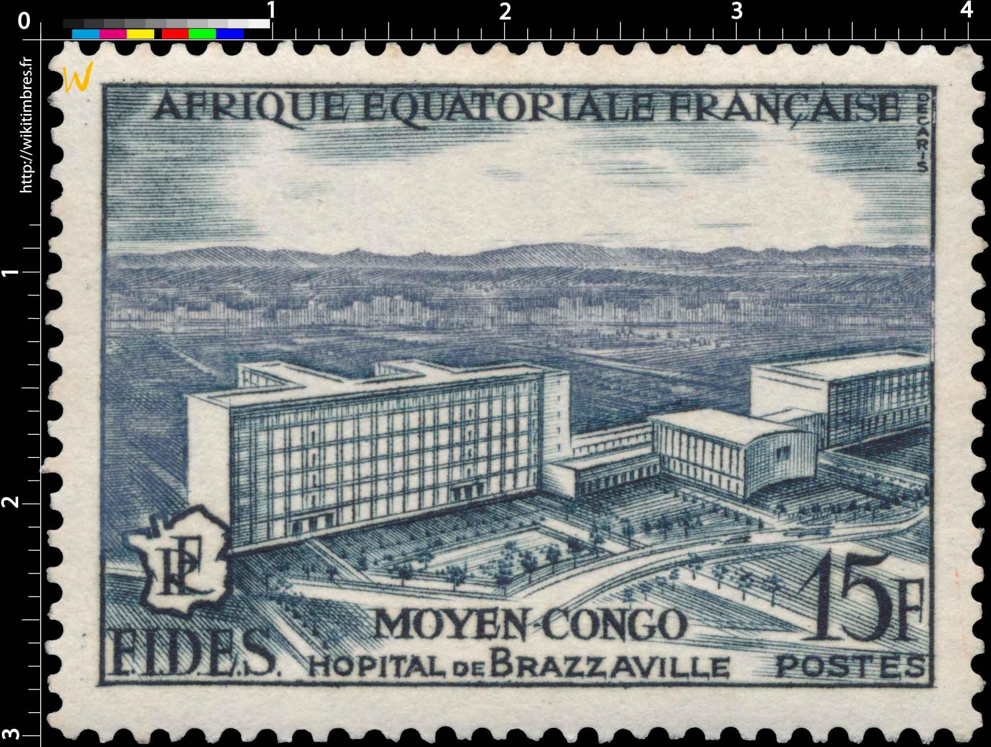 Moyen Congo Hôpital de Brazzaville Afrique Équatoriale Française