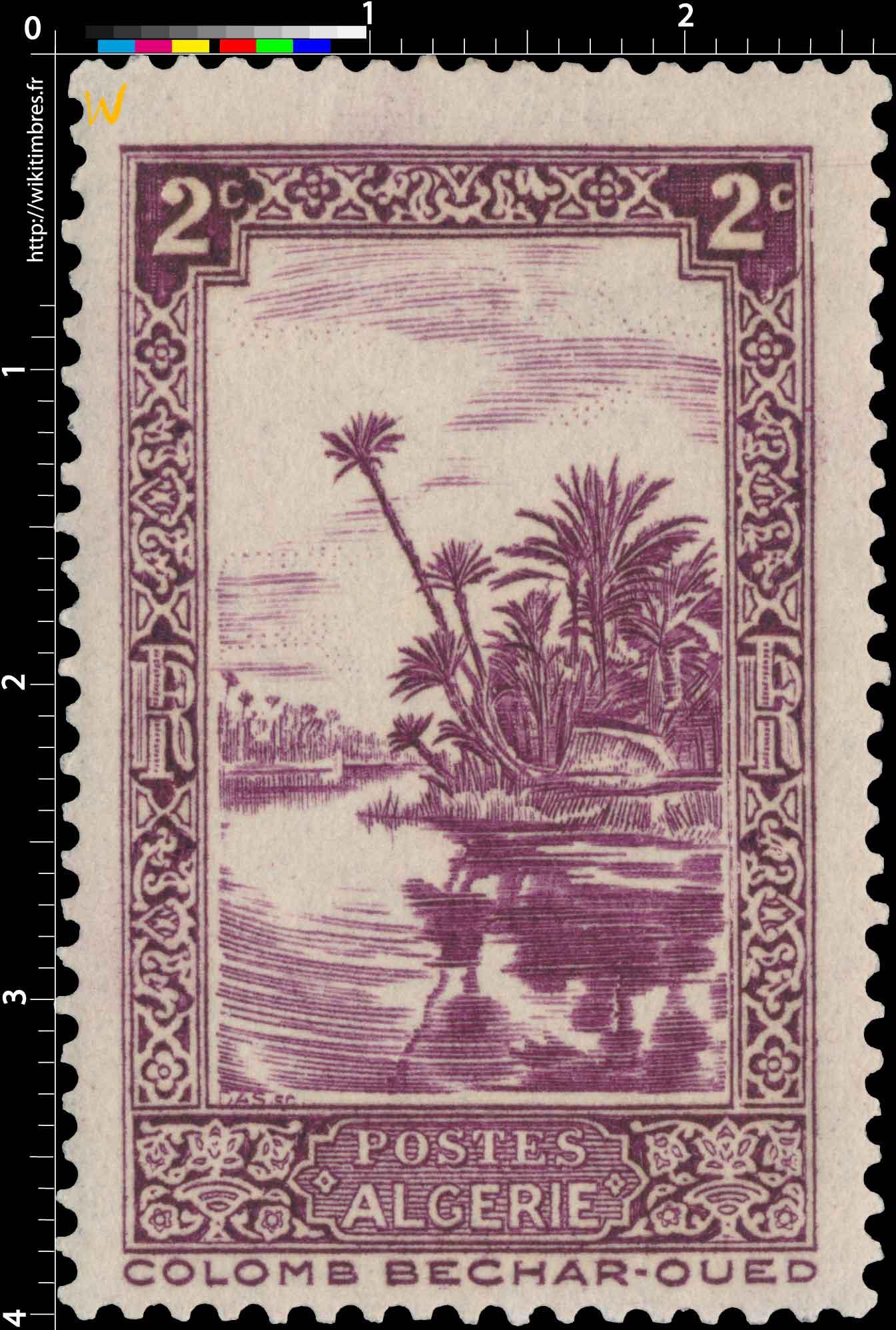Algérie - Colomb Béchar-Oued