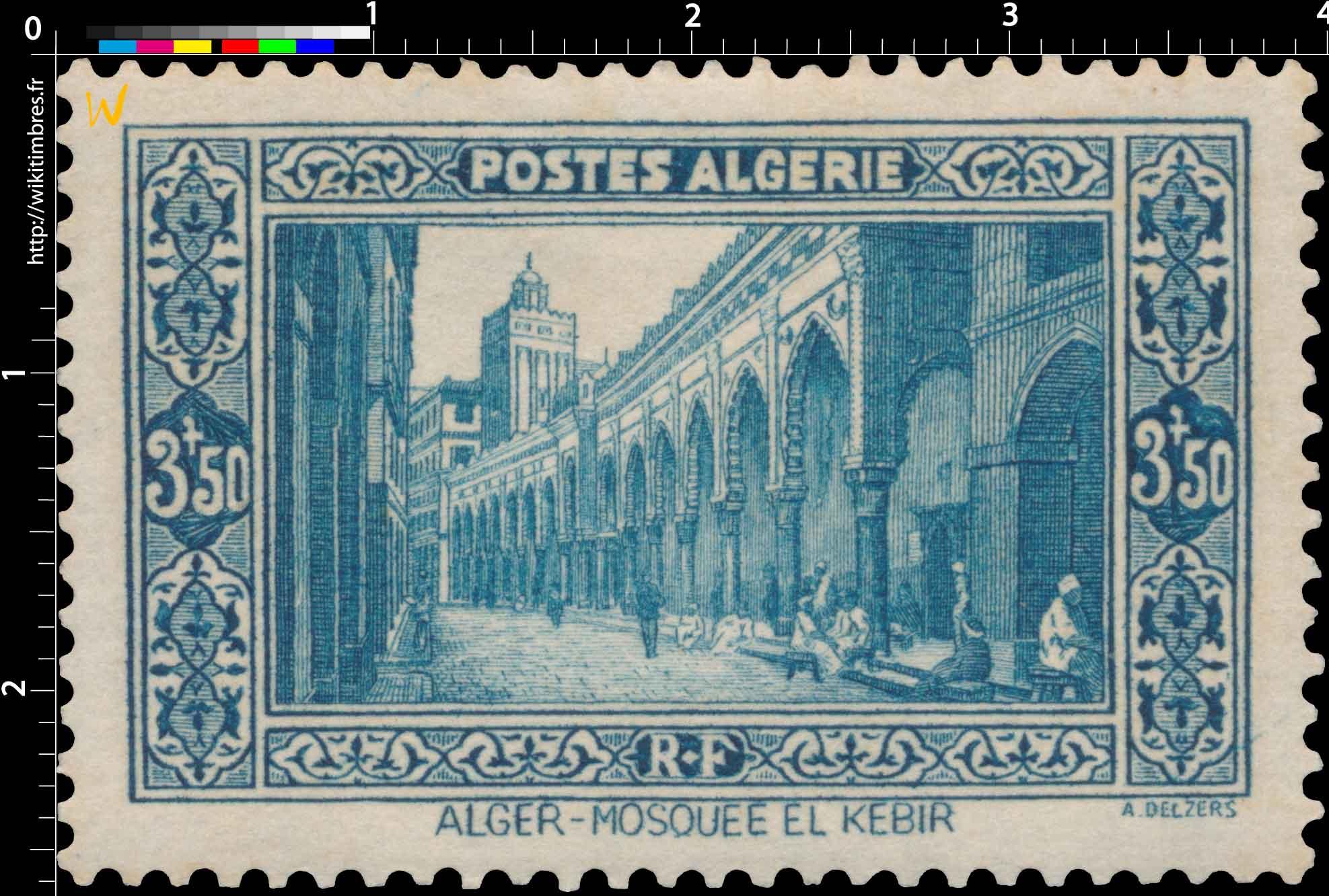 Algérie - Alger Mosquée El Kébir