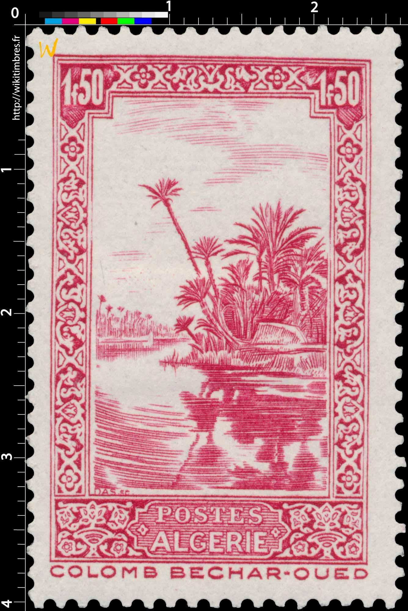 Algérie - Oued, à Colomb-Béchar