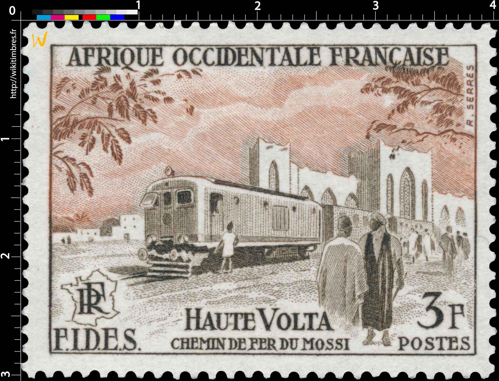 Afrique Occidentale Française - F.I.D.E.S.  Chemins de fer du Mossi  Haute-Volta