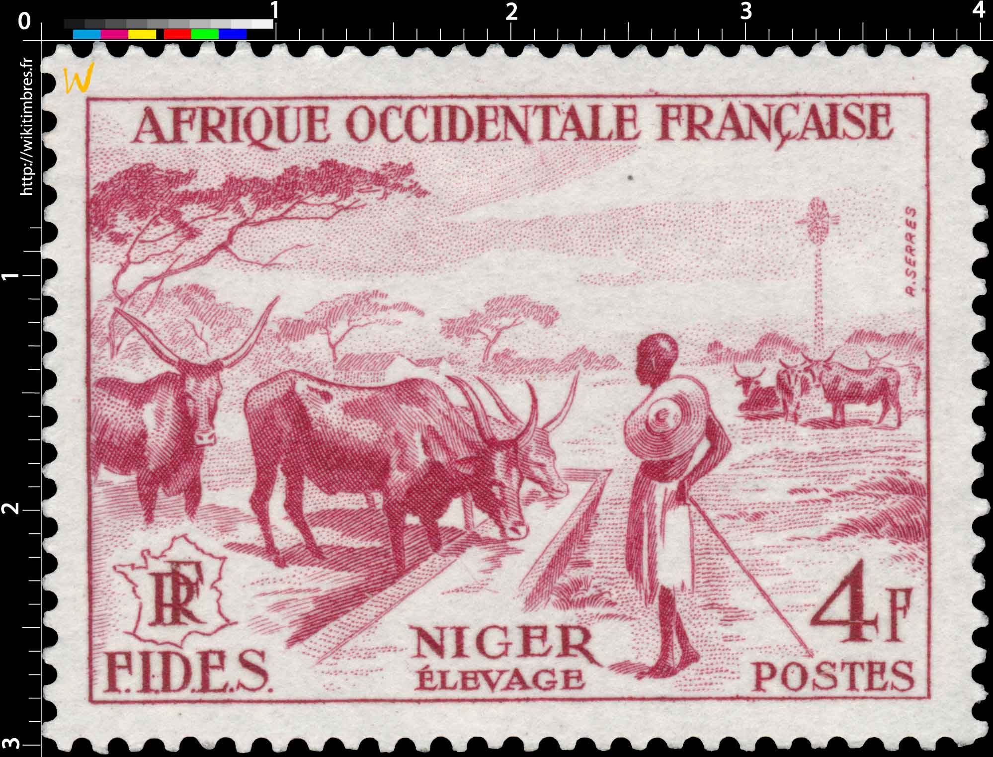 Afrique Occidentale Française - F.I.D.E.S. - Elevage Niger