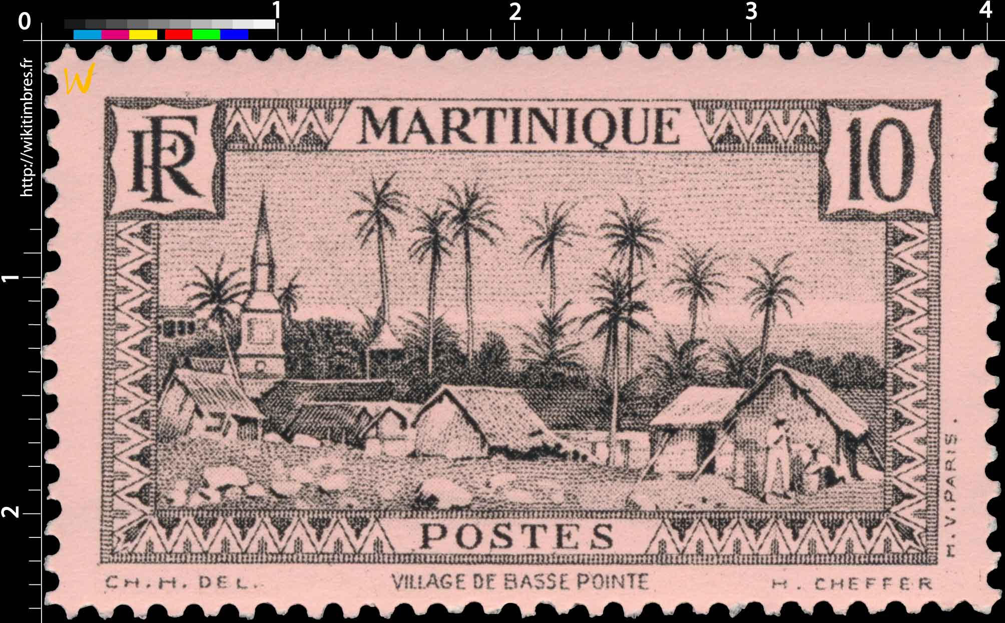 MARTINIQUE  Village de Basse-Pointe