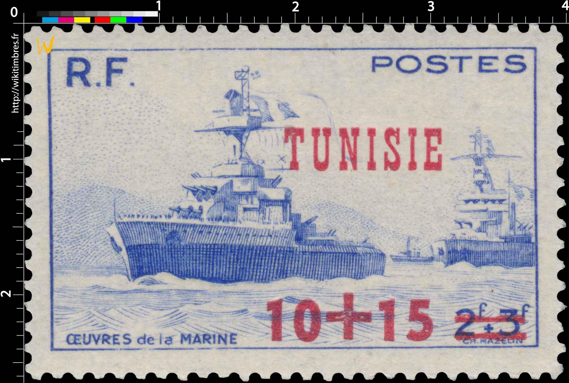 Tunisie - Oeuvres de la marine