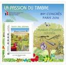 2016 La passion du timbre - 89e congrès Paris 2016 Muséum d'histoire naturelle