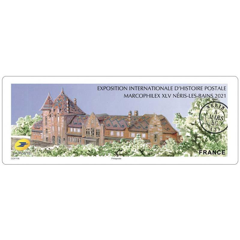 2021 Exposition internationale d'histoire postale - Marcophilex XLV Néris-Les-Bains
