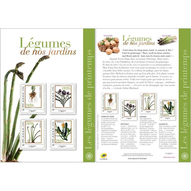 2020 Légumes de nos jardins - Les légumes de printemps