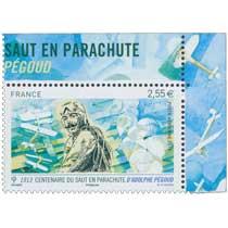 1913 Centenaire du premier saut en parachute d'Adolphe Pégoud
