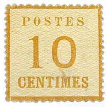 Postes 10 centimes