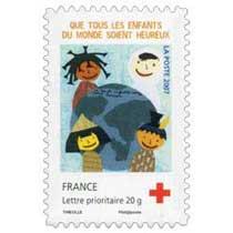2007 QUE TOUS LES ENFANTS DU MONDE SOIENT HEUREUX