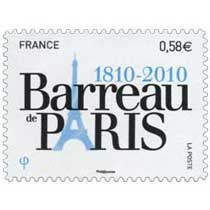 Barreau de Paris 1810 - 2010