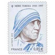 2010 Mère Teresa 1910-1977