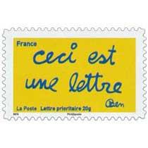 Ceci est une lettre