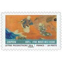 JAPON XIXe s. LYON MUSÉE DES TISSUS
