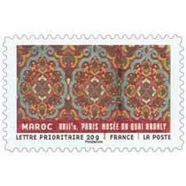 MAROC XVIIe s. PARIS MUSÉE DU QUAI BRANLY