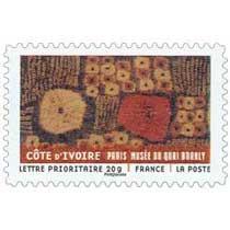 COTE D'IVOIRE PARIS MUSÉE DU QUAI BRANLY