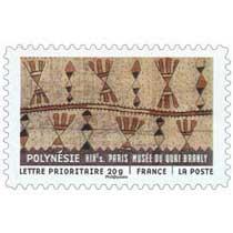 POLYNÉSIE XIXe PARIS MUSÉE DU QUAI BRANLY