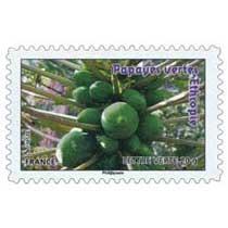 papayes vertes Éthiopie