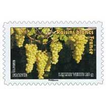 raisins blancs France