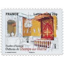 2013 chambre d'honneur Château de Champs-sur-Marne