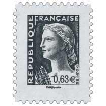 Sans légende particulière - Type Marianne de Décaris