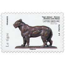 Le tigre - Tigre debout - Bronze - Antoine Louis Barye - les animaux dans l'art