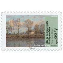 L'île de la Grande Jatte, Neuilly sur Seine Paris musée d'Orsay Alfred Sisley