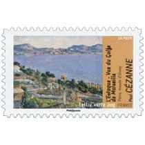 L'Estaque Vue du Golfe de Marseille Paris musée d'Orsay Paul Cézanne