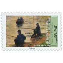 Les pêcheurs à la ligne étude pour la grande Jatte Troyes musée d'Art moderne Georges Seurat