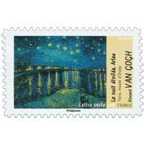 La nuit étoilée Arles Paris musée d'Orsay Vincent Van Gogh