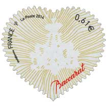 2014 Timbre Coeur Baccarat