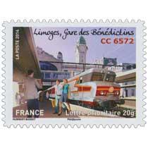 2014 Limoges gare des Bénédictins CC 6572