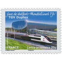 2014 Gare de Belfort-Montbéliard TGV TGV Duplex
