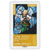 2014 Objets d'art  –  Renaissance en France  –  Ange musicien, Cathédrale Saint-Etienne de Sens