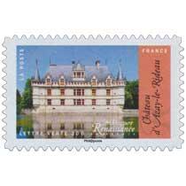 2015 Architecture Renaissance en France - Chateau d'Azay-le-Rideau